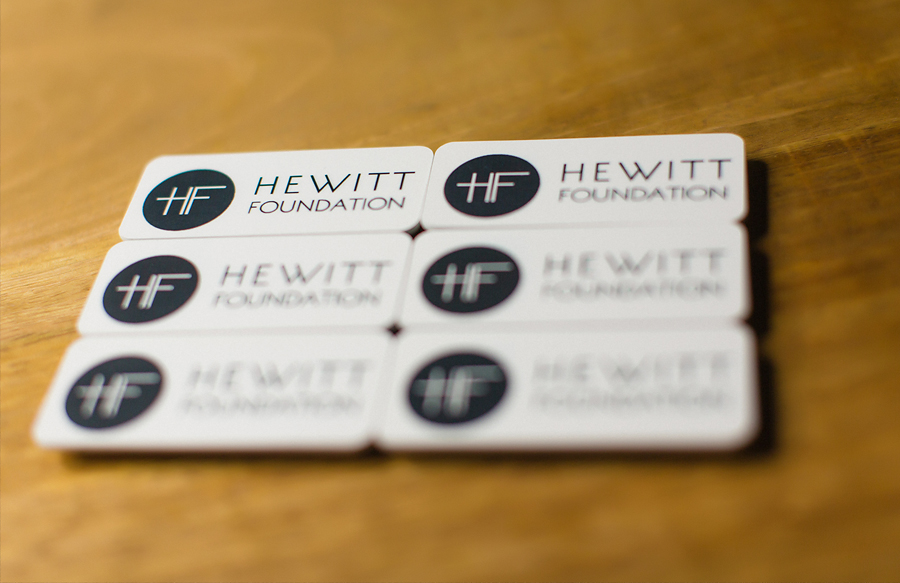 Hewitt Foundation | Name Badges » My Site